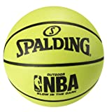Spalding Basketball NBA Glow in The Dark, Intermediate Size 6 (28.5