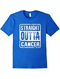 Straight Outta Cancer T-Shirt For Women Men Tees