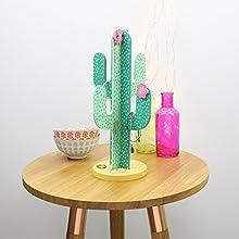 Soporte para joyas, Cactus