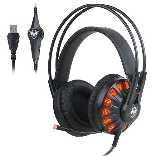 KKmoon G932 Auriculares Esport Juegos Virtual 7.1