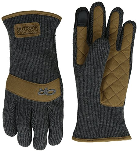 Outdoor Research Damen, Herren Outdoorhandschuhe, Dunkelgrau, XS