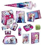 Disney die Eiskönigin Schulranzen Set 17tlg. Scooli Campus Up mit Sporttasche und Schultüte 85cm FRQA8252-GR