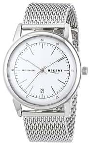 Regent Herren-Armbanduhr XL Analog Handaufzug Edelstahl 11050067