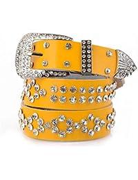 fd430693476 Amour creux boucle boucle dames boutique ceinture en cuir serré dames robe  de ceinture exquise élégante