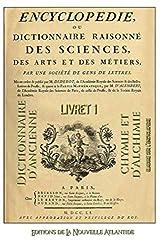 Encyclopédie ou Dictionnaire d'ancienne chymie et d'alchimie, livret 1, établi sur l'encyclopédie de Diderot et d'Alembert