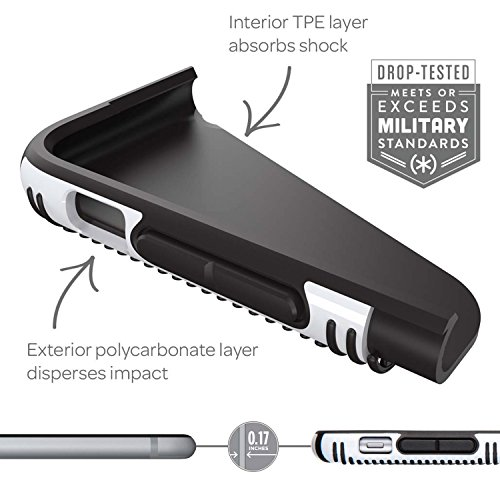 Speck Grip CandyShell harte Schutzhülle für Samsung Galaxy S7 schwarz/slate grau lilac lila/iris lila