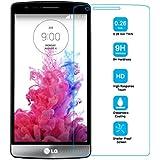 """Ambaiyi Cristal Vidrio Templad Premium Protector de Pantalla para LG G3s , (pantalla 5"""")"""