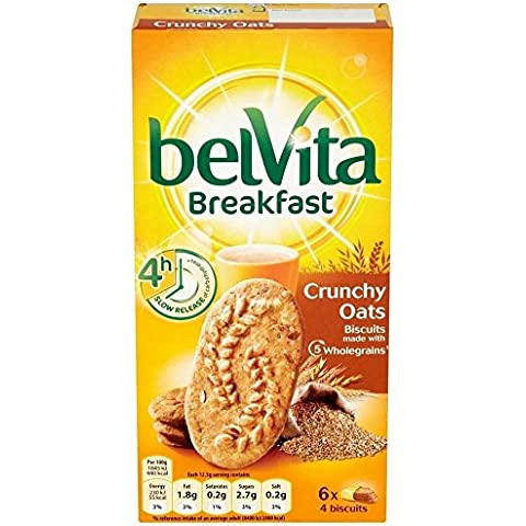 Belvita Colazione Biscotti - Avena Croccanti (6X50g)
