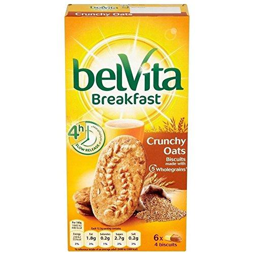 Belvita Colazione Biscotti - Avena Croccanti (6X50g) (Confezione da 2)