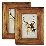 Bilderrahmen aus Holz, natur, 4x6 2pack