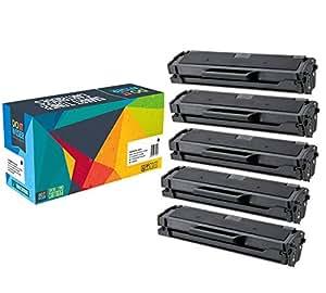 5 Cartucce Toner Do it Wiser ® Compatibili in Sostituzione di Samsung MLT-D111S Xpress SL-M2070 SL-M2020 SL-M2022 SL-M2026