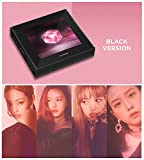 K-POP [Black Ver.] 1st Mini Album SQUARE UP BLACKPINK CD + Official Poster + Blooklet + Postcard + Selfie Photo Card + Store Gift