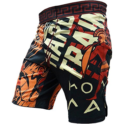 Shorts-Hardcore-Training-Sparta-Black