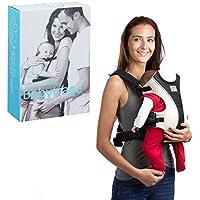 454acc3a7ce6 Litte Choice Porte-bébé 3 Mois Porte-bébé Dorsal Ergonomique Porte-bébé  ventral