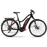 Haibike SDURO Trekking 2.0 Damen 500Wh 10G Deo. YCS L schwarz rot Weiss E-Bike