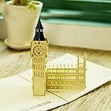 uniqueplus Londres Big Ben creativo 3d Pop Up Kirigami de felicitación tarjetas de regalo de recuerdo, aniversario, boda, cumpleaños, pareja, día de la madre, día del padre, gracias