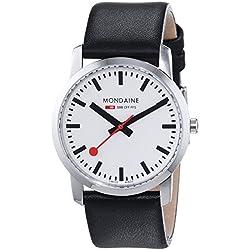Mondaine Unisex-Armbanduhr SBB Simply Elegant 36mm Analog Quarz A400.30351.11SBB