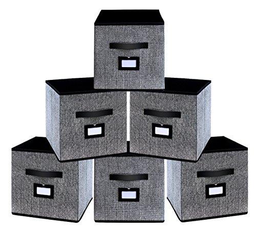 Homyfort Caja de Almacenaje con 6 pcs