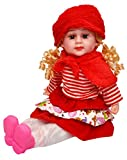 #10: Toyshine 18 Inches Rhymes Singing Boy Doll, Touch Sensors, Red
