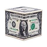 SXPC Impresión UV patrón de dólar 3x3x3 Velocidad del Cubo mágico Cube Puzzle Toy para Brain Trainning,B