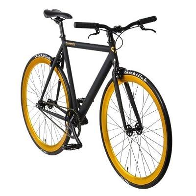 """bonvelo Singlespeed Fahrrad Blizz """"Heart of Gold"""" (Medium / 53cm für Körpergrößen von 160cm bis 171cm))"""
