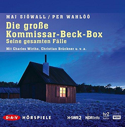 Die große Kommissar-Beck-Box – Seine gesamten Fälle: Hörspiele mit Charles Wirths, Christian Brückner u.v.a. (16 CDs)