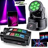 Lyra lytor wash7LEDs DMX RGB 4W + Weiß + Spider microspid RGBW 8x 3W Ghost