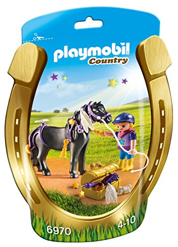 Playmobil 6970 Collectable Groomer with Star Pony