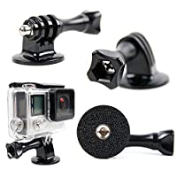 DURAGADGET Tripod Adapter Attachment Mount With GoPro-Style Receiver - Compatible with the GoPro Fusion - by DURAGADGET