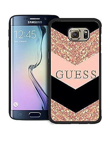 Guess CoqueCase for Samsung Galaxy S6 Edge, Brand Guess Galaxy S6 Edge Étui pour téléphone, Hardshell Samsung S6 Edge CoqueCase Guess Brand
