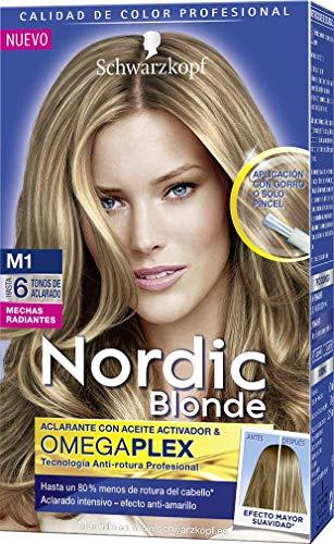 Nordic Blonde - Tono M1 Mechas Radiantes Permanentes
