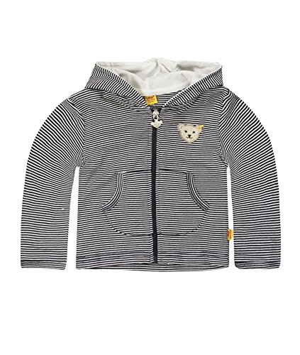 Steiff Unisex Baby Sweatshirt 6607, Blau Marine 3032, 86