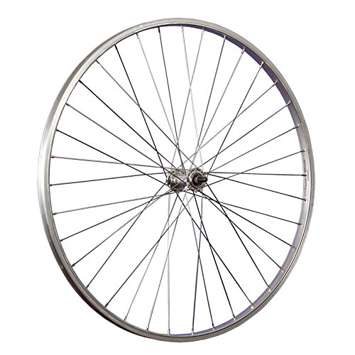 Taylor-Wheels 28 Zoll Vorderrad Büchel Alufelge/Alu Nabe Vollachse - Silber