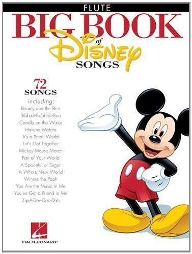 The Big Book Of Disney Songs - Flute of Various on 21 March 2012