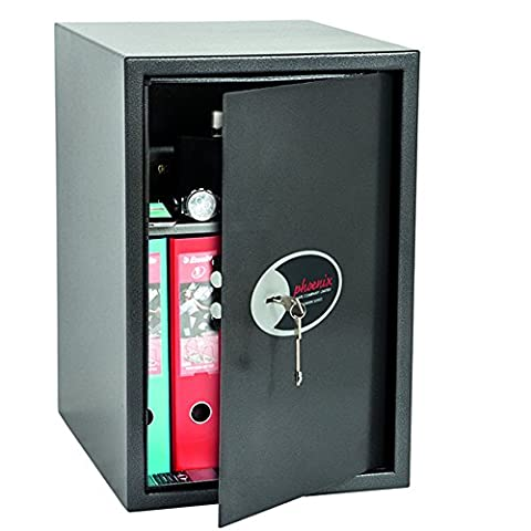 Phoenix Vela Home Office Security Safe with Key Lock (Extra Large)