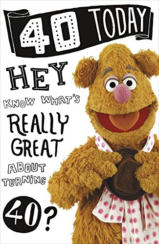 The Muppets 40 today 40th birthday card