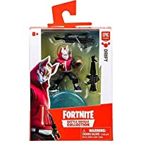 Fortnite Epic Games Battle Royale Collection - 2 Inch Mini Figures Choose from Drift, Cuddle Team Leader, Omega, Ragnorak, Carbide and Skull Trooper (Drift)
