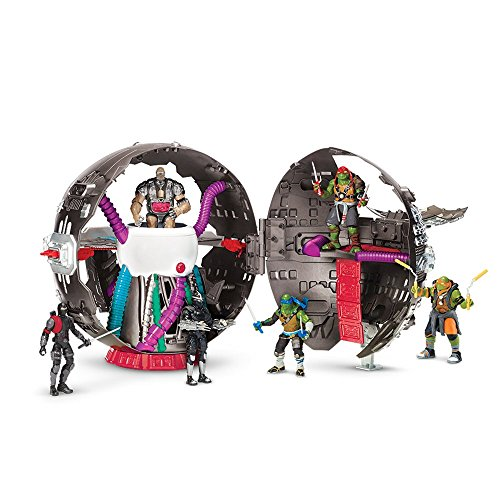 Teenage Mutant Ninja Turtles 14089806 - Turtles Movie II Technodrome Playset (Teenage Mutant Ninja Turtles 2 Shredder)