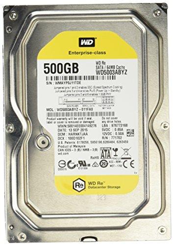 Wd Re 500gb Sata Enterprise Hard Drive (wd5003abyz)