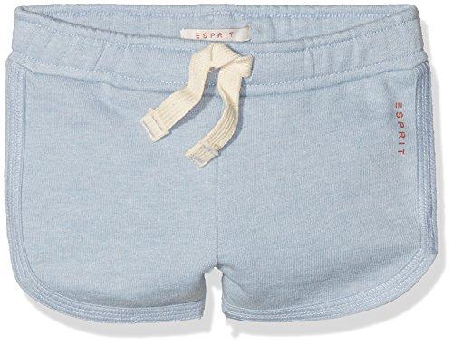 Kleidung Ausgeführt Kinder (ESPRIT Mädchen Shorts RL2306313, Blau (Light Heather Blue 406), 92 (Herstellergröße: 92/98))