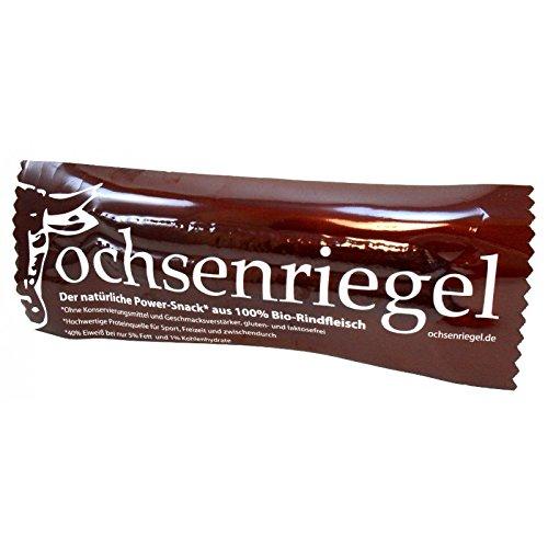 Ochsenriegel Power Snack | 100% BIO Rindfleisch Snack