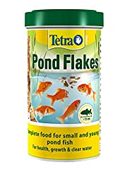 500 ml : Tetra Pond Flake Complete and Varied Fish Food for Young and Small Pond Fish, 500 ml