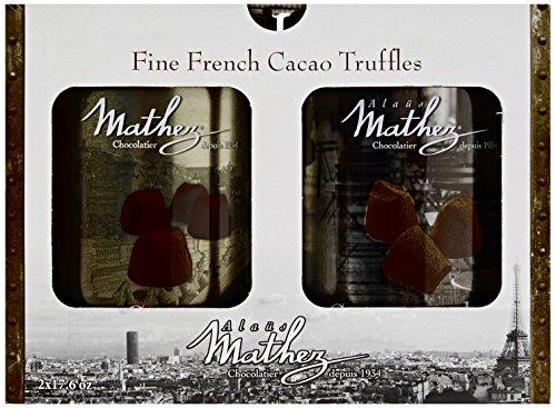 Price comparison product image 2x500g Chocolat Mathez Fine French Cocao Powdered Chocolate Truffles Fantaisie