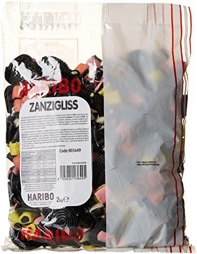 Haribo Bonbon Gélifié Zanzigliss 2 kg