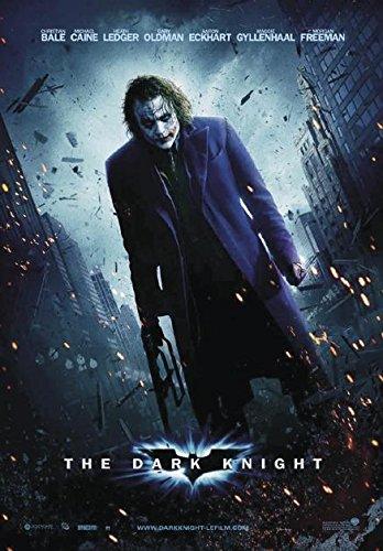 Poster Batman - The Dark Knight (68cm x 98cm) + un poster Bora Bora en cadeau!