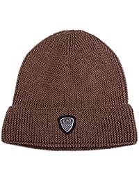 Emporio Armani EA7 gorro de hombre sombrero nuevo mountain basic marrón