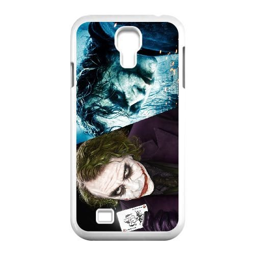 Personalized Durable Cases Samsung Galaxy S4 I9500 White Phone Case Ioujt Joker Heath Ledger Protection Cover