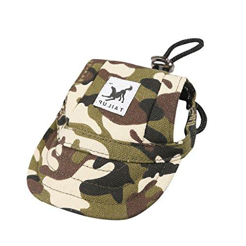 (Hundecap Baseball Cap Mütze Kappe Hunde Cappy Haustier Bunte Mode)
