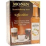 Monin Sirup 6er Mini für Kaffee, Milch, Desserts... - 0,3 Liter