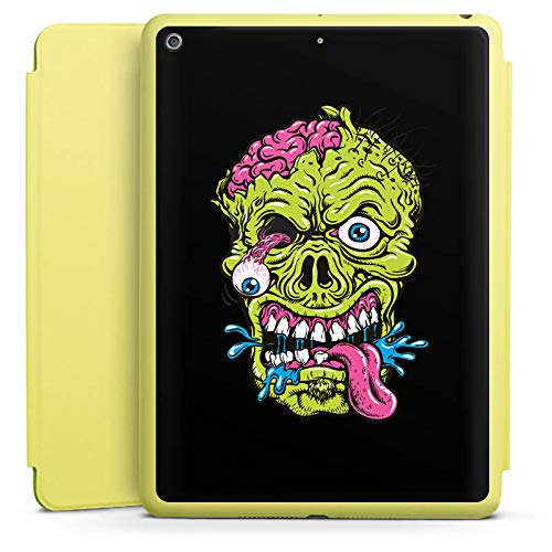 e Limette kompatibel mit Apple iPad 2018 Hülle mit Ständer Schutzhülle Zombie Halloween Gruselig ()